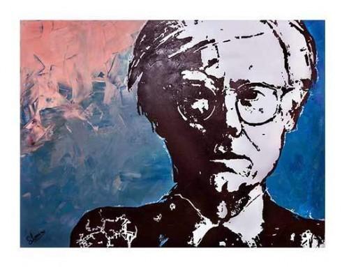 Artiste peintre Salah eddine Laouina oeuvre contemporain ANDY WARHOL