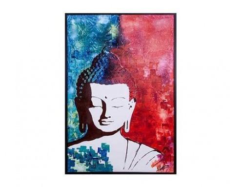 Artiste peintre contemporain – Oeuvre BOUDDHA