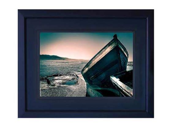 Artiste Photographe Marocain – Oeuvre THE BLUE BOAT