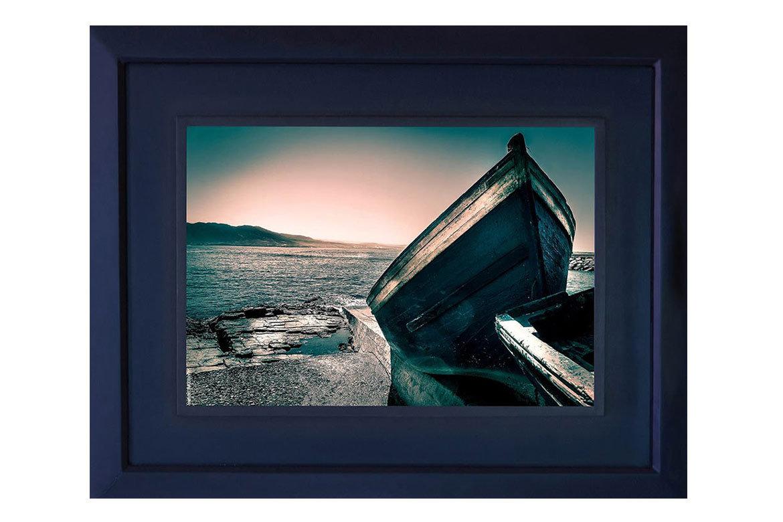 The Blue Boat-artiste-peintre-photographe-maroc-artist-painter-morocco-africa-salaheddinelaouina-post