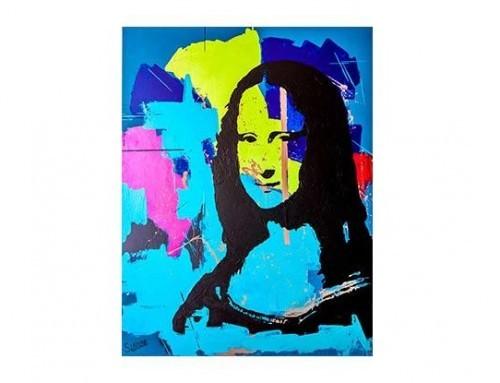 Artiste peintre Marocain – Oeuvre MONA LISA