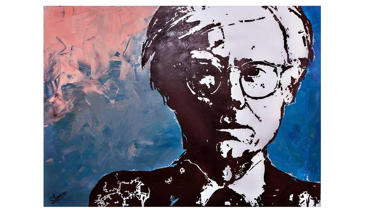 Peintre Contemporain Célèbre Vivant oeuvre contemporain andy warhol -